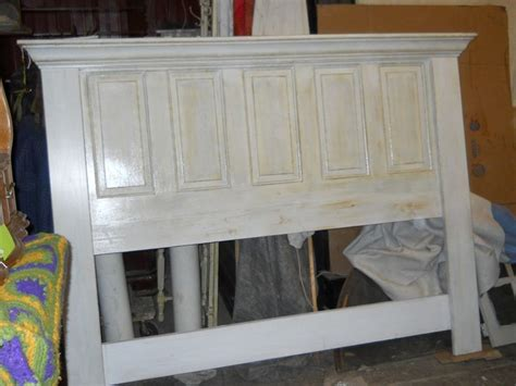 headboard out of a door door headboard steaming baths pinterest