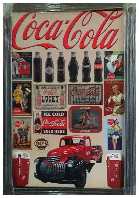 cuadro coca cola cuadro vintage coca cola camioneta mod3 95x65 env 237 o gratis