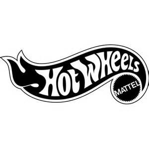 Hot Wheels Logo Decal Sticker   HOT WHEELS LOGO