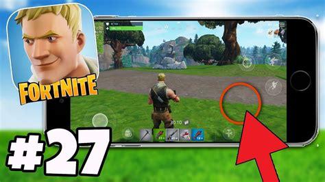 secret  button  fortnite fortnite mobile app ios