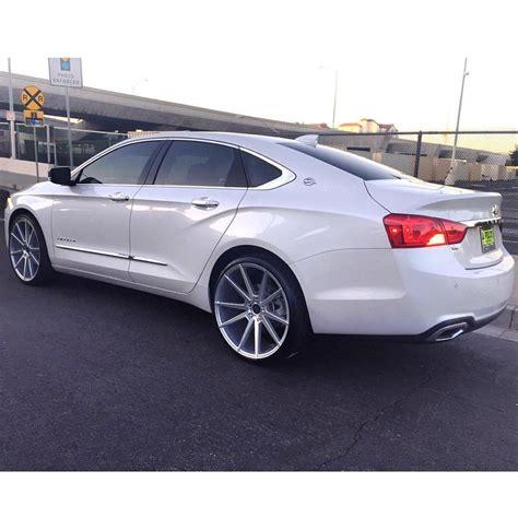 impala ltz wheels giovanna wheels 2016 chevrolet impala ltz pearl white