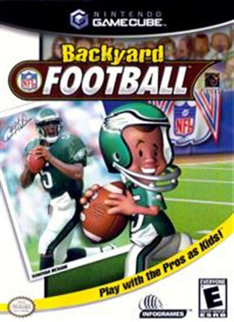 backyard football app nintendo gamecube games launchbox games database