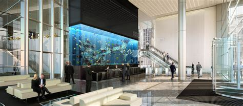 Column Decorations by Europe S Largest Privately Owned Aquarium Installed In