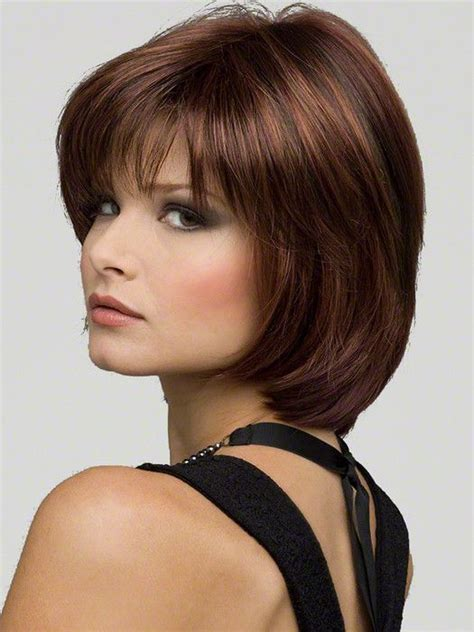inexpensive wigs for women with round faces 25 best wedding hairstyles for medium length hair images