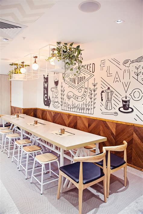 cafe interior design sydney crisp and clean the latest in a line of sydney s la