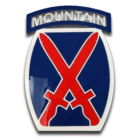 Kyle Cutting Sticker Us Army 10th Mountain Division american liquid metal 10th mountain limited edition sign