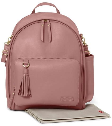 Dhanny Virna Dusty Pink Ay skip hop greenwich simply chic backpack bag dusty