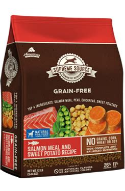 supreme source food review salmon meal and sweet potato flavored food supreme source grain free