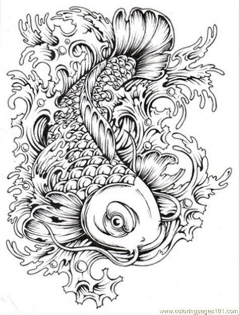 free printable japanese art tattoo coloring pages printable coloring home