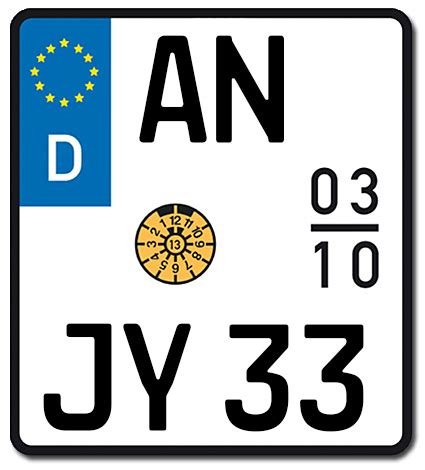 125er Motorrad Kennzeichen alle informationen zum saisonkennzeichen motorrad