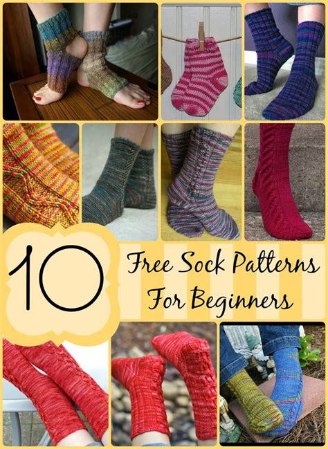 best way to knit socks 10 free sock patterns for beginners easy patterns to make