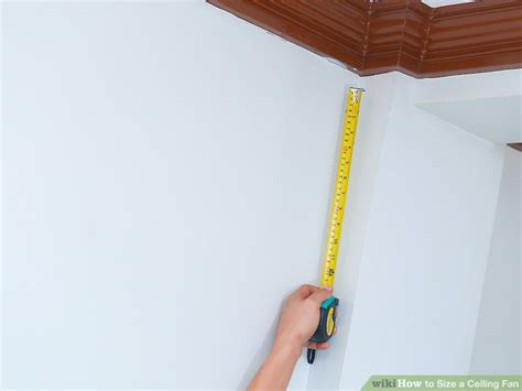 how to measure a ceiling fan how can you measure the size of a ceiling fan shelly