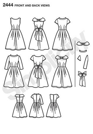 pattern review simplicity 2444 pattern recommendation sewing discussion topic