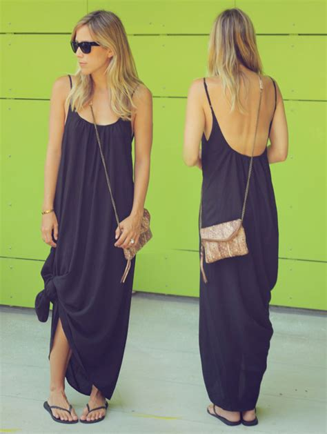 Maxi Dress To Tie At Bottom by Sunday Stroll Damsel In