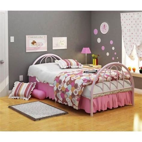 girls twin bed frame twin bed frame girls pink brooklyn style twin bed head