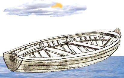 row boat drawing easy how to draw a boat