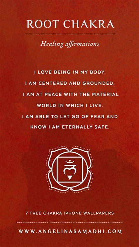root chakra root chakra healing affirmations chakra affirmations
