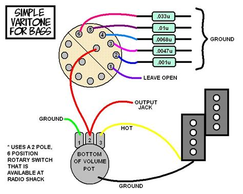 Volume Knob Wiring by Volume Knob Wiring Diagram Get Free Image About Wiring
