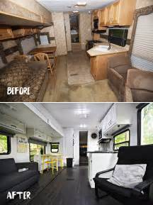 camper renovations the rv renovation before amp after
