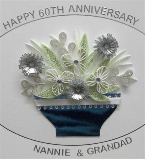 Handmade 60th Wedding Anniversary Cards - 57 best images about 60th wedding anniversary cards on