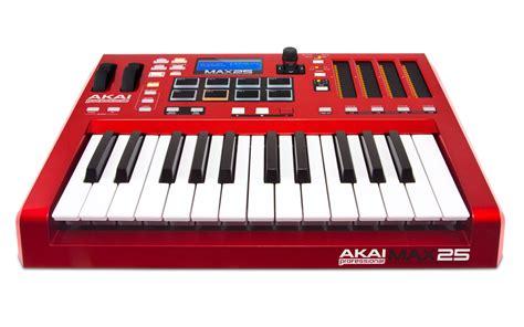 usb discover midi keyboard now you can learn and play akai max25 compact usb midi cv keyboard controller