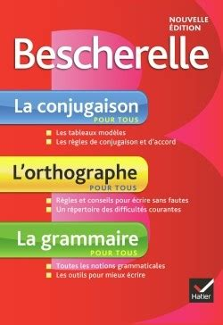 bescherelle le coffret bescherelle 2401029931 bescherelle la conjugaison pour tous coffret of 3 books french edition french verbs