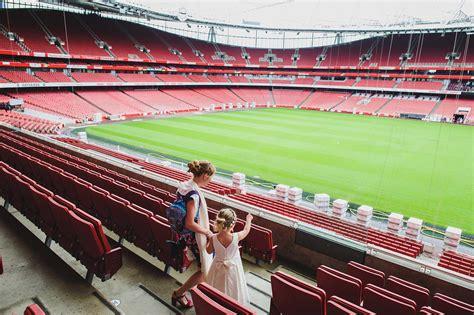 emirates stadium london wedding photography at the emirates stadium in london