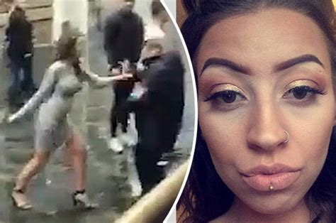bouncer beats up guy in bathroom liverpool bouncer hits woman mickyla peberdy denies