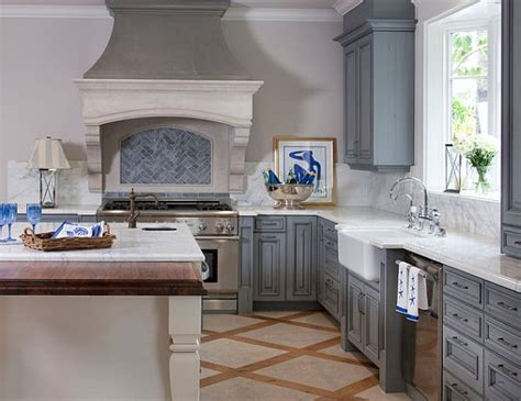 Distressed Blue Kitchen Cabinets Five Tricks To Bring Back The Farmhouse Charm Into Your