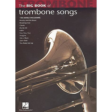 libro the big book of hal leonard the big book of trombone songs 171 libro de partituras