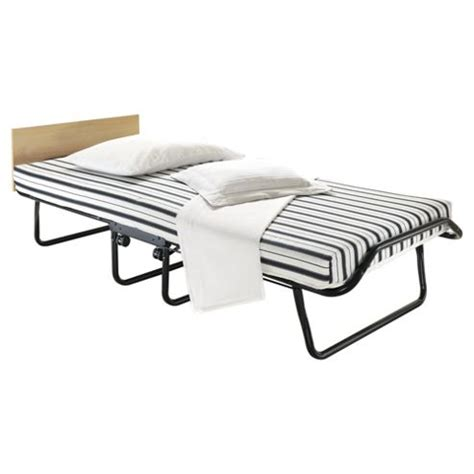 Folding Single Guest Bed Buy Be Single Deluxe Folding Guest Bed With Airflow Fibre Mattress From Our Guest Beds Range