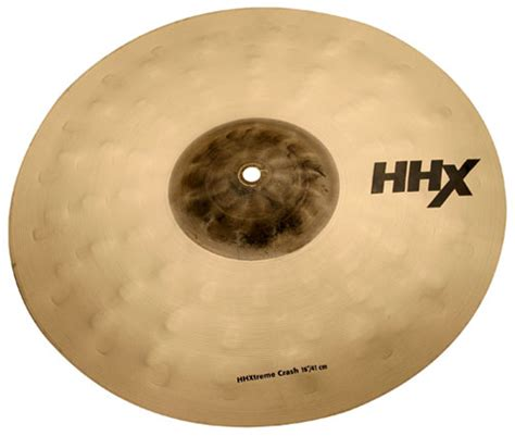 Sabian Cymbal Hhx Stage Crash 16 sabian hhx xtreme crash 16 keymusic