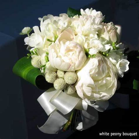 types of white flowers for wedding wedding flowers hill peony farm