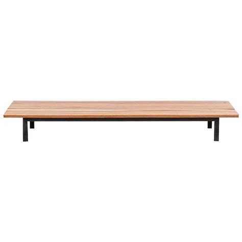 charlotte bench charlotte perriand bench c for sale at 1stdibs