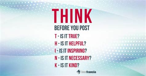think before you like social media s effect on the brain and the tools you need to navigate your newsfeed books social media etiquette think before you post ben francia