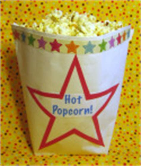 Origami Popcorn Box - origami craft project library
