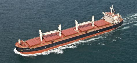 eagle bulk takes delivery of m v eagle shipping herald