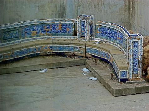azulejos onda castellon banco redondo museo azulejo onda