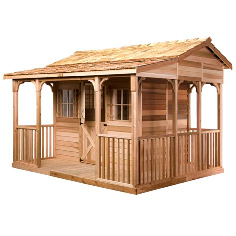 shop cedarshed common 16 ft x 12 ft interior dimensions