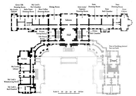 castle howard floor plan detail of ground floor plan of castle howard projetos