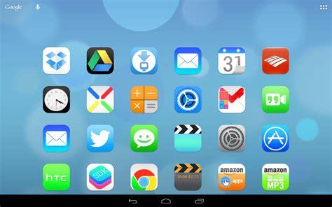 nova launcher ios7 theme apk ultimate ios7 launcher theme apk android galeri
