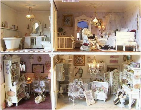 shabby chic dolls houses miniatures pinterest