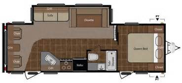 25 Ft Travel Trailer With Slide Floor Plans Keystone Springdale Travel Trailer Travel Trailer Floor