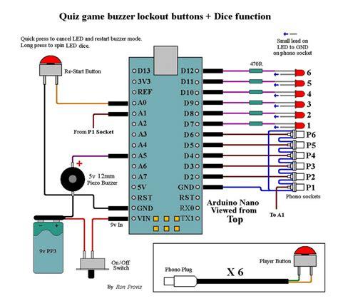 circuit diagram quiz buzzer wiring diagram