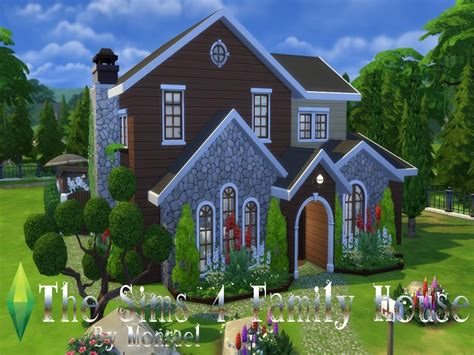 4 family homes monraelis12 s the sims 4 family house