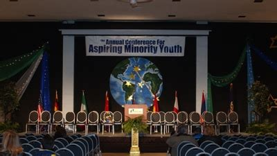 annual conference  aspiring minority youth