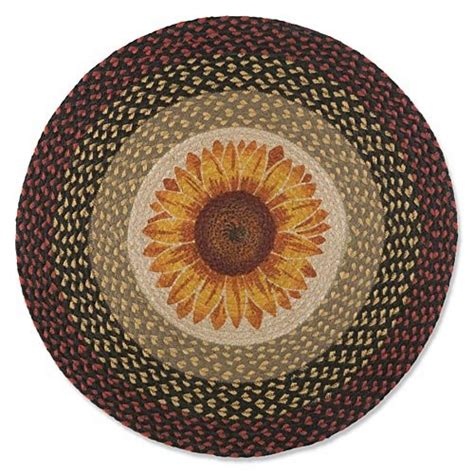 Sunflower Area Rugs Sunflower Area Rugs Brighten Up Your Floors Let The Sun Shine In Funk This House