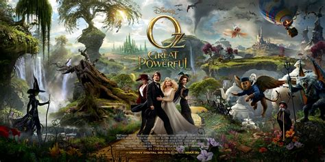 film barat monster mendelson s memos oz the great and powerful gets four