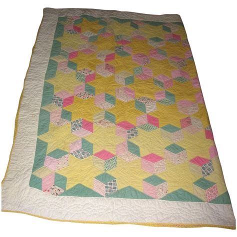 pastel quilt pattern antique quilt stars blocks pattern pastel colors from