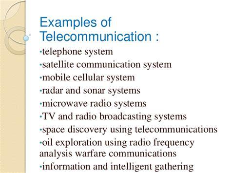 Basic Of Telecommunication Presentation Telecommunication Presentation